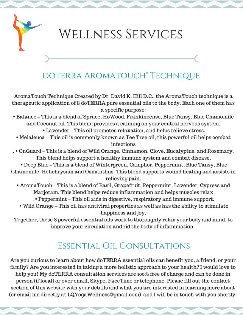 Copy of Yoga & WellnessServices